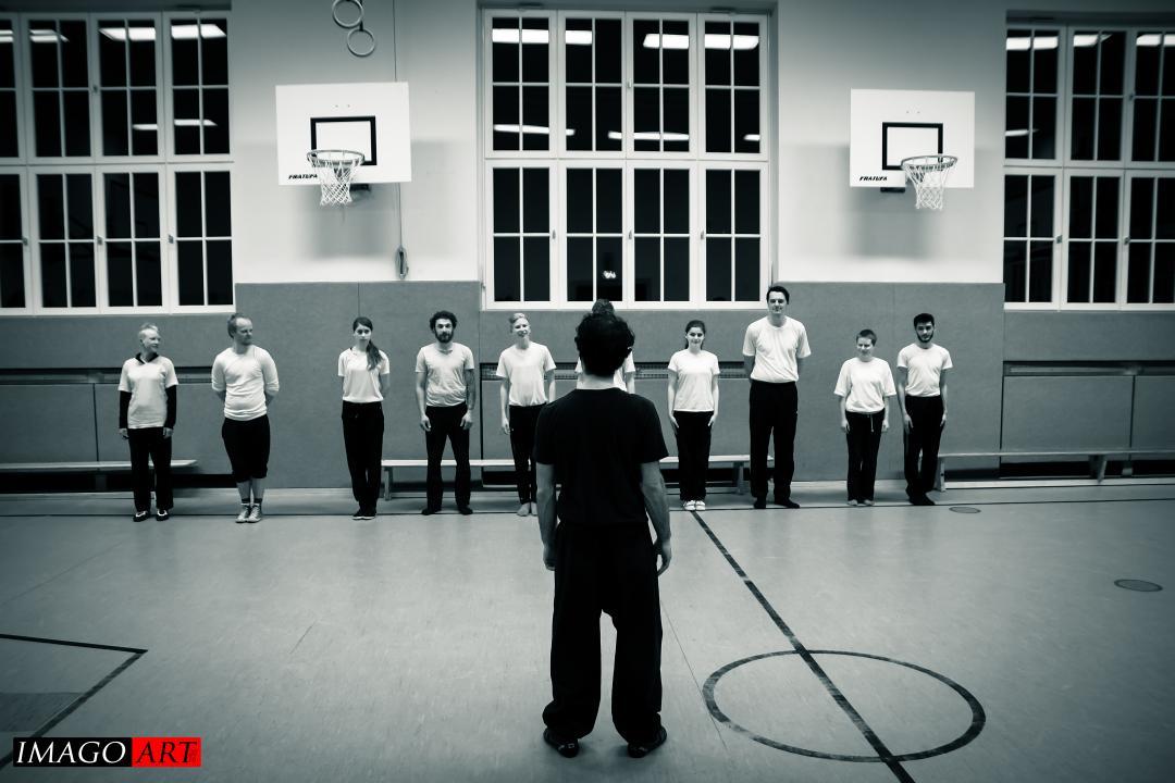Kung Fu Trainingsanfang