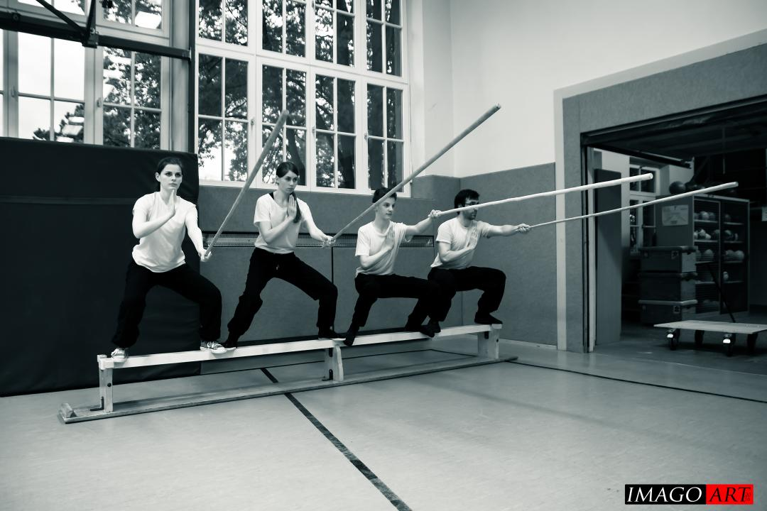 Kung Fu Kraftübung