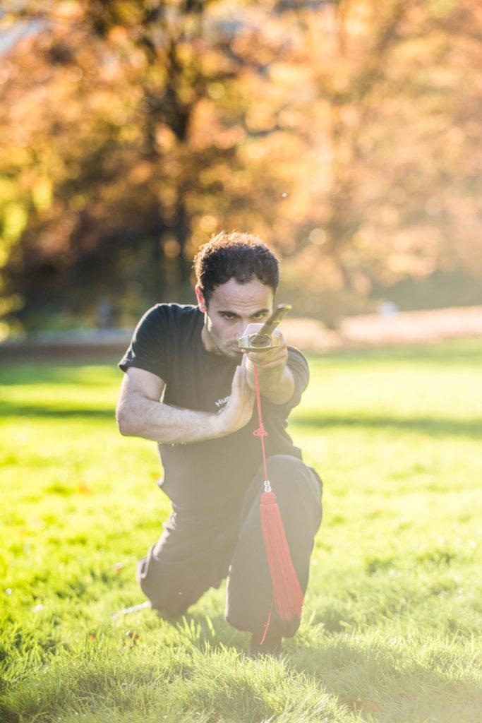 Schwertkampf Kung Fu