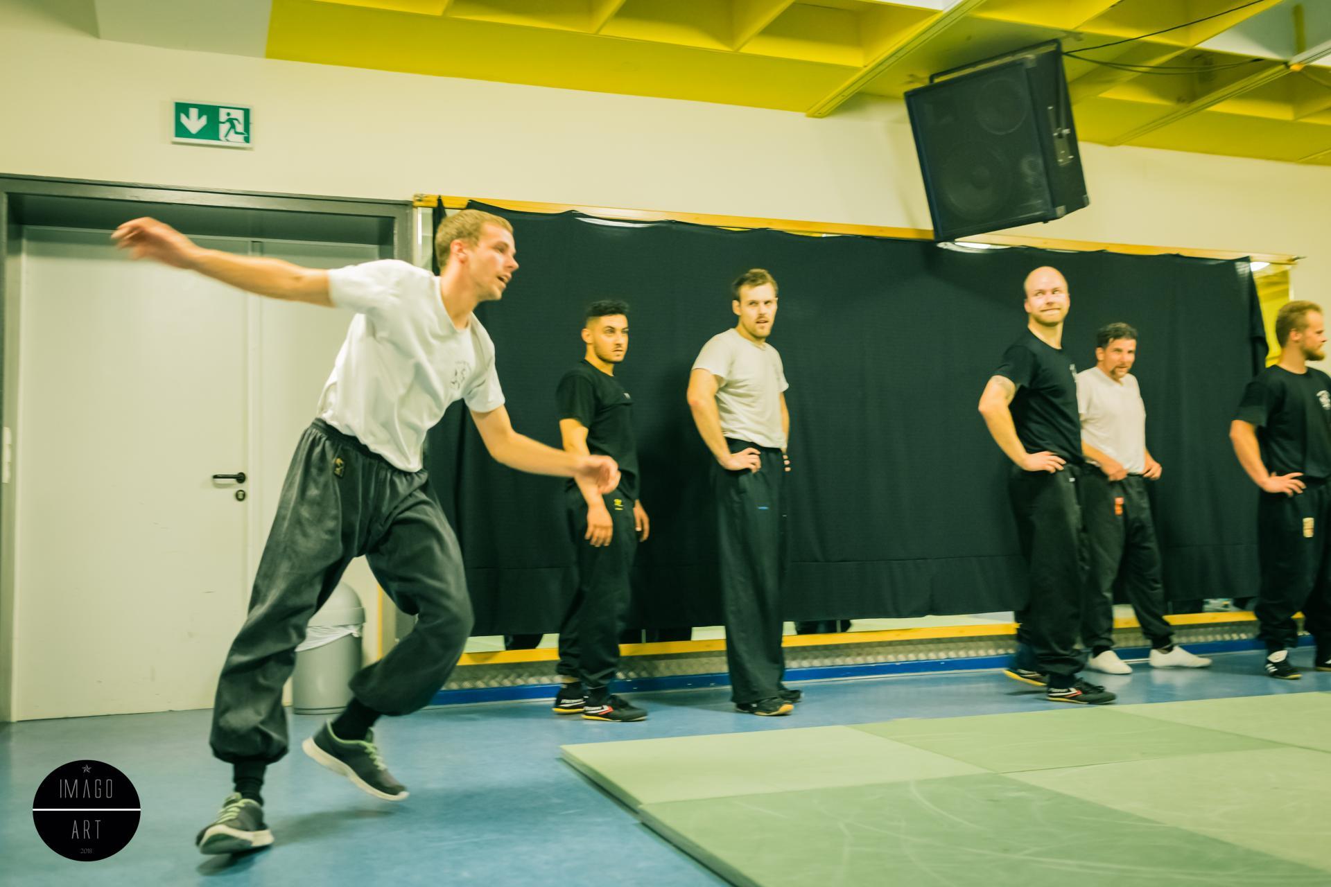 Paddy trainiert Ti Kung Kuen