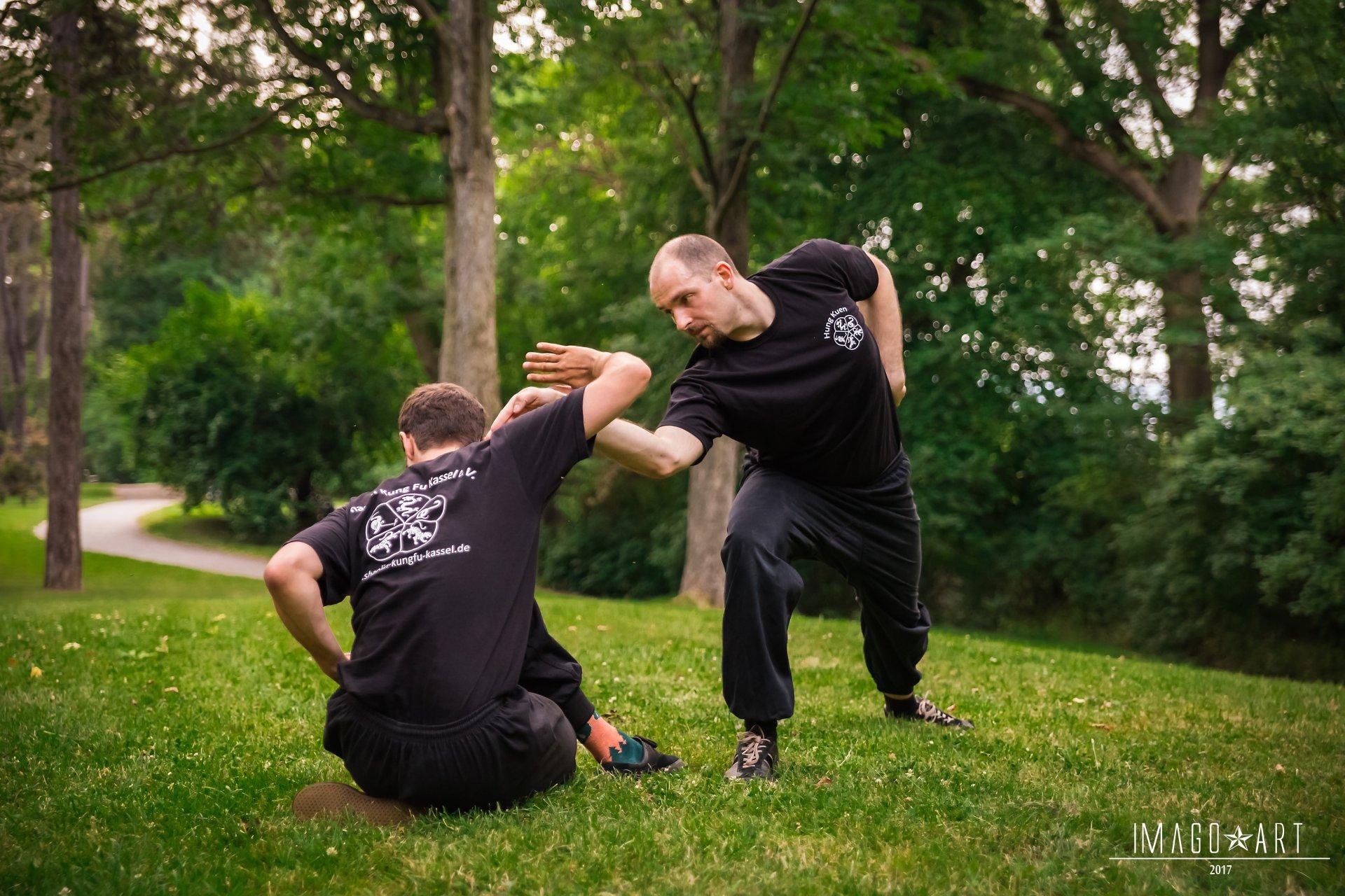 Freikampf Hung Kuen Kung Fu